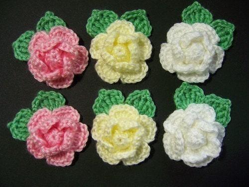 örgü çiçekler örgü çiçek Modelleri 1 Bymoda Blogcucom