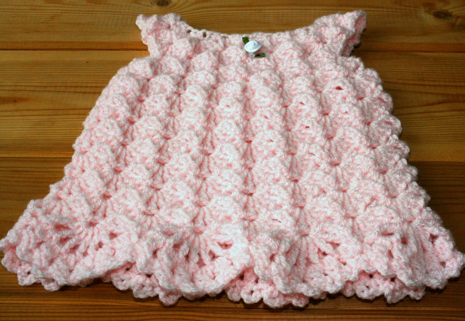 cute newborn baby crochet dress 0  3m girl clothes etsy online baby