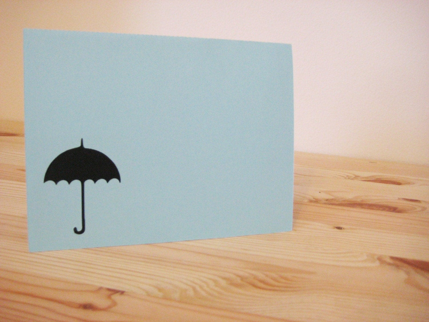 Rainy Day Support Pop-Up Card