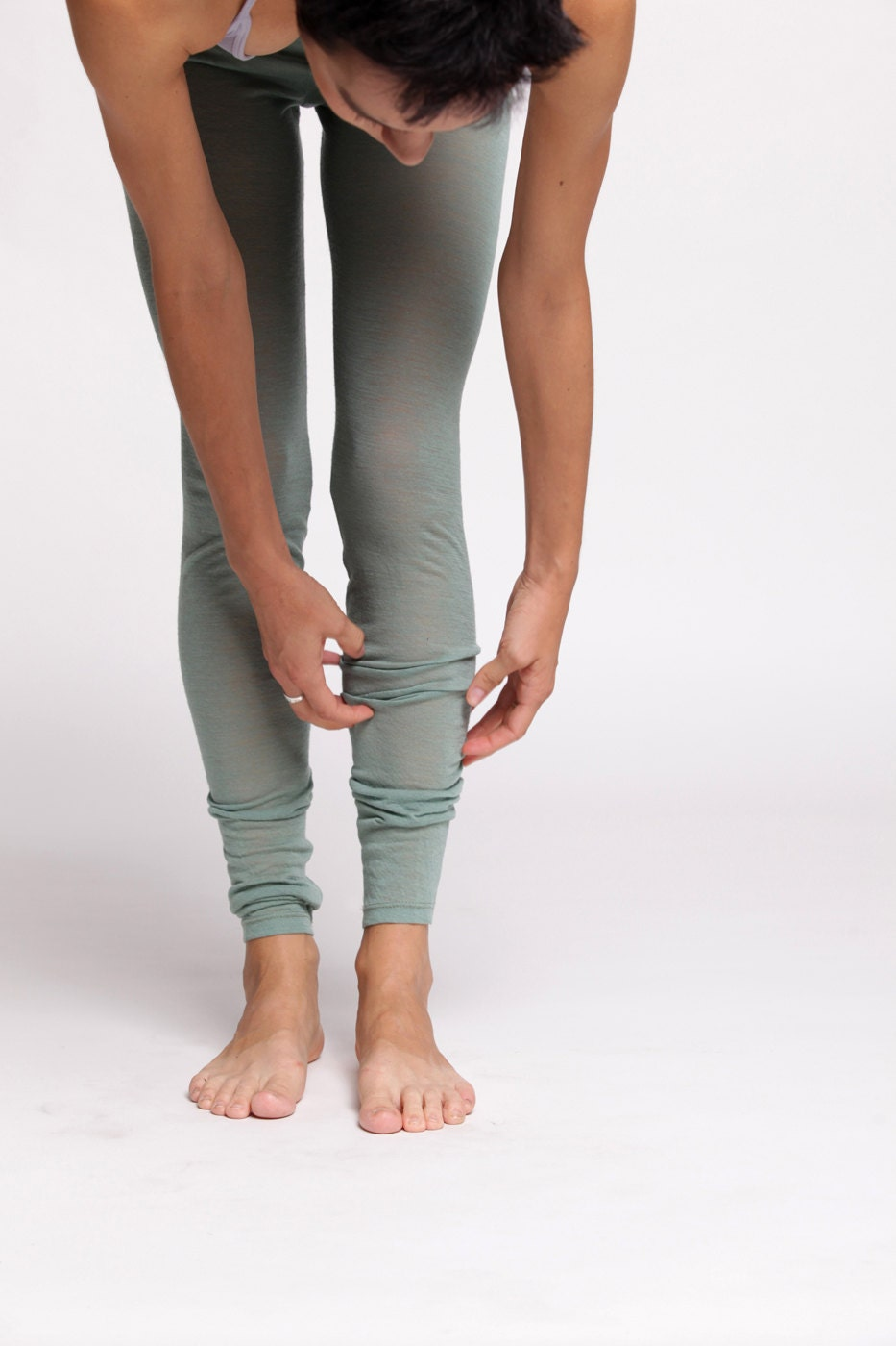 Tights / Leggings Extra Long Soft Merino Wool - duende74