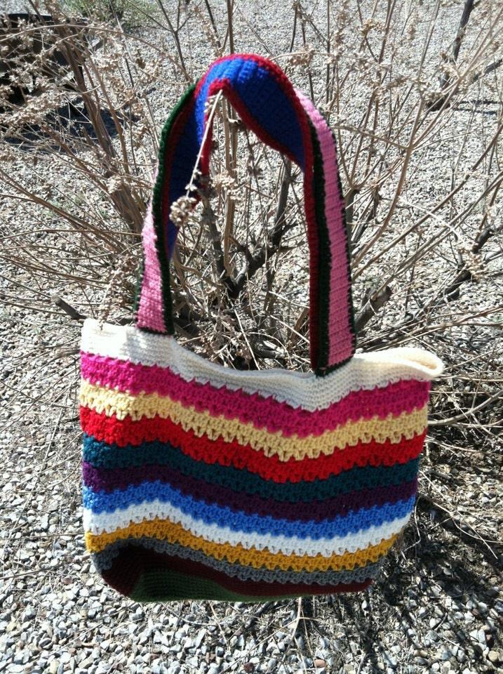Multi-Color Tote Bag