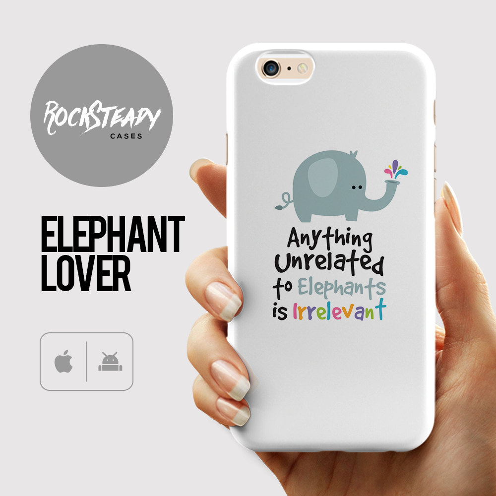 Elephant 6s Case gift iPhone 7 case iPhone 6 Plus S6 case Samsung Galaxy S7 case 5s 5c cartoon cute cover Unrelated to elephants
