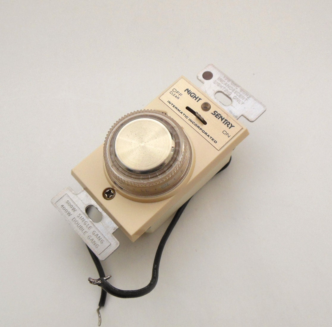 Vintage Light Timer Switch Night Sentry Home By