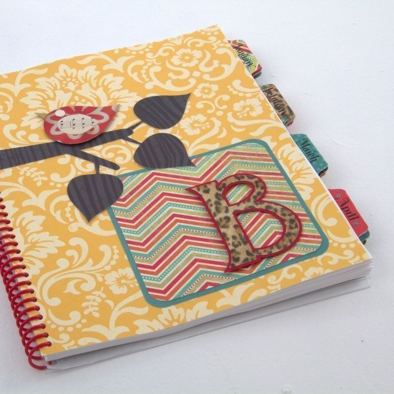 BELINDA Design - Medium Personalized Planner