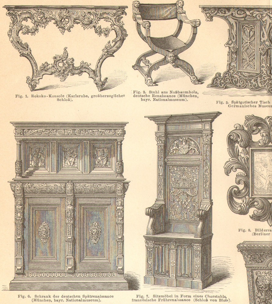 404 not found for Baroque reproduction furniture