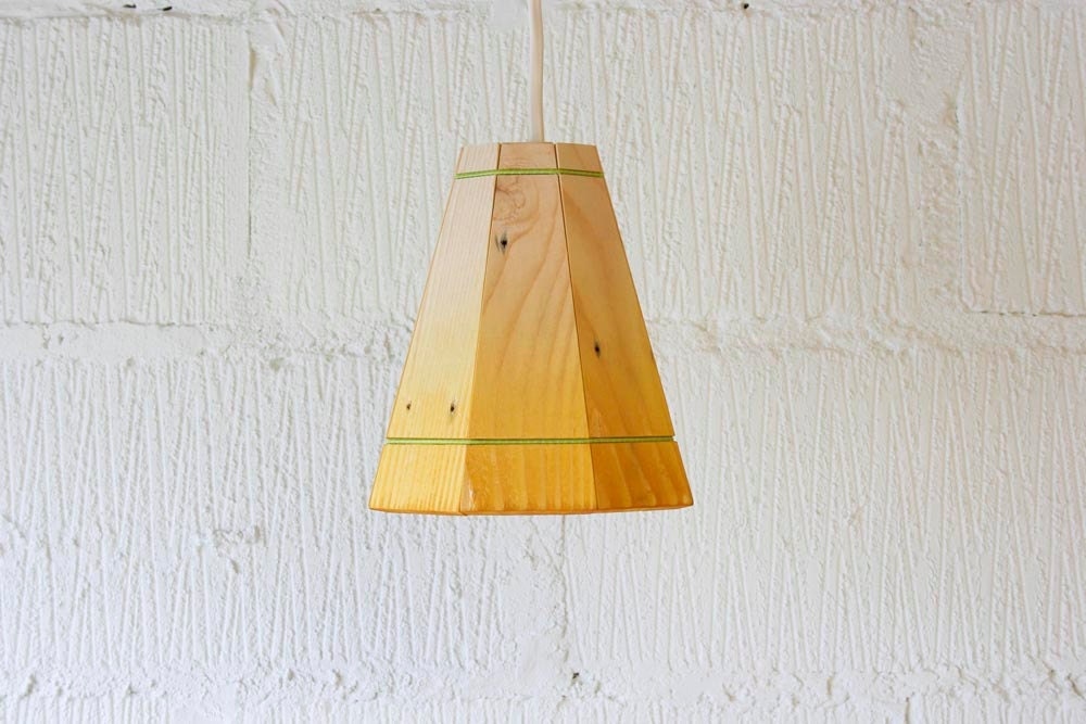 yellow pendant lamp shade handmade in recycled by. Black Bedroom Furniture Sets. Home Design Ideas