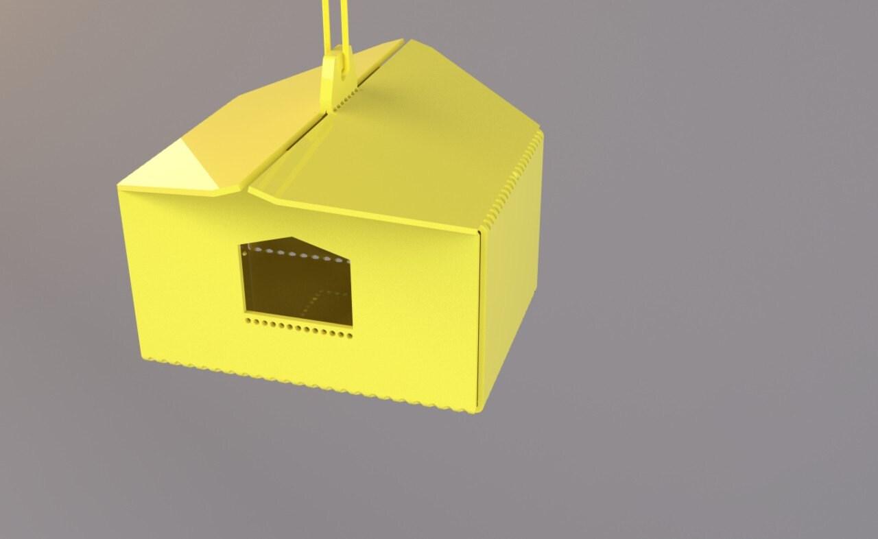 LittleHouse Bird House (Yellow)