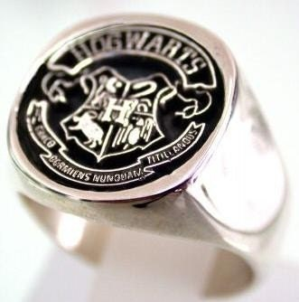 Solid Sterling Silver 925 Harry Potter Ring ALL SIZE