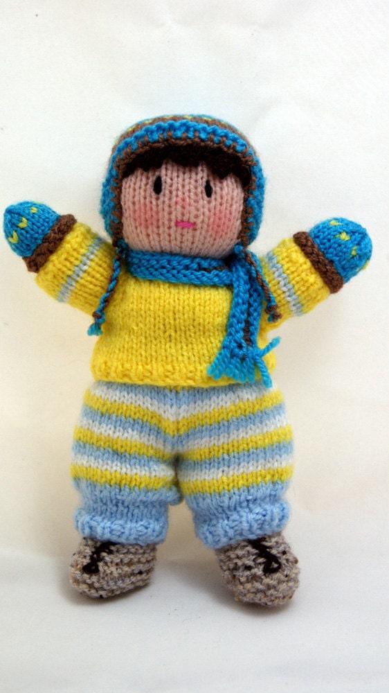 آنهایی که کوچولو -- دستباف 8 اینچ عروسک بافتنی