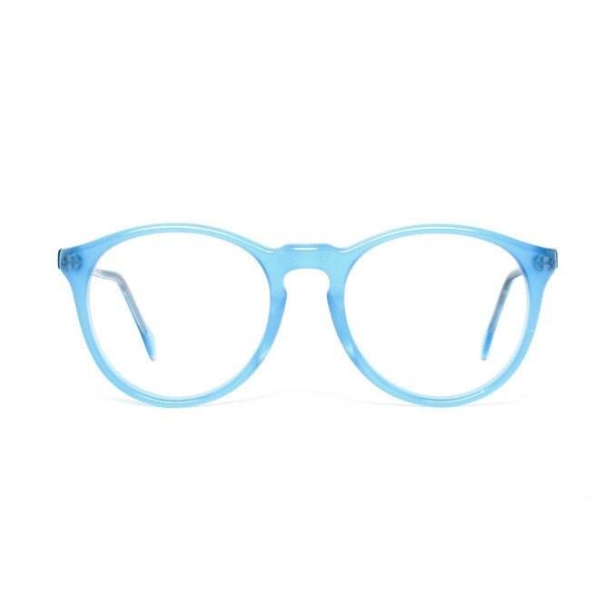 Paradise Blue Vintage Eyeglasses Frame