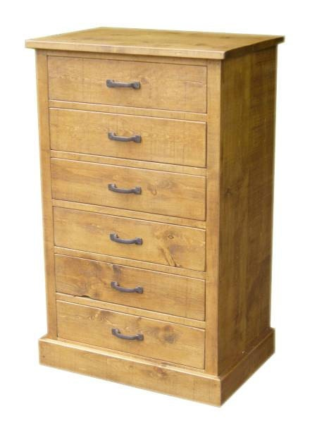 Rustic plank Furniture New Real Solid Wood Chest of Drawers Rustic pine Sideboard Base Sawn Textured Finish indigo furniture bedside bedroom