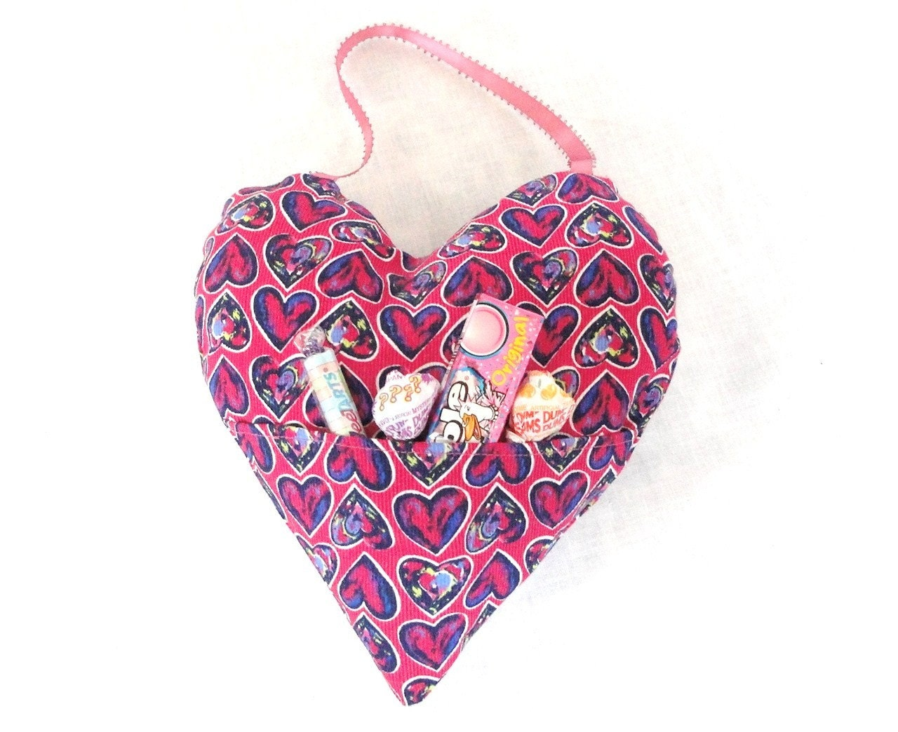 Valentine Heart with pocket, door hanging decor