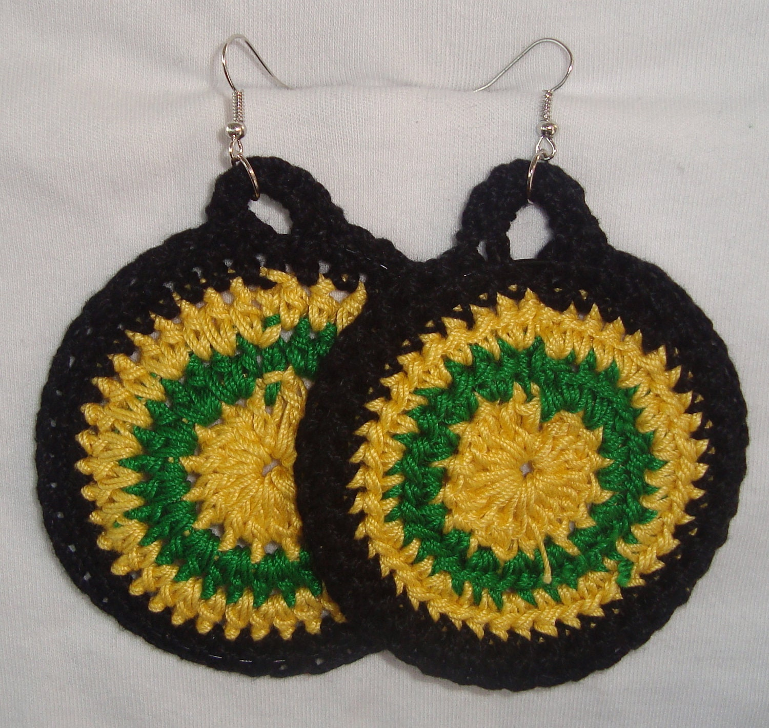 Crochet Earrings/ 5 Different Earring 12.00 Each