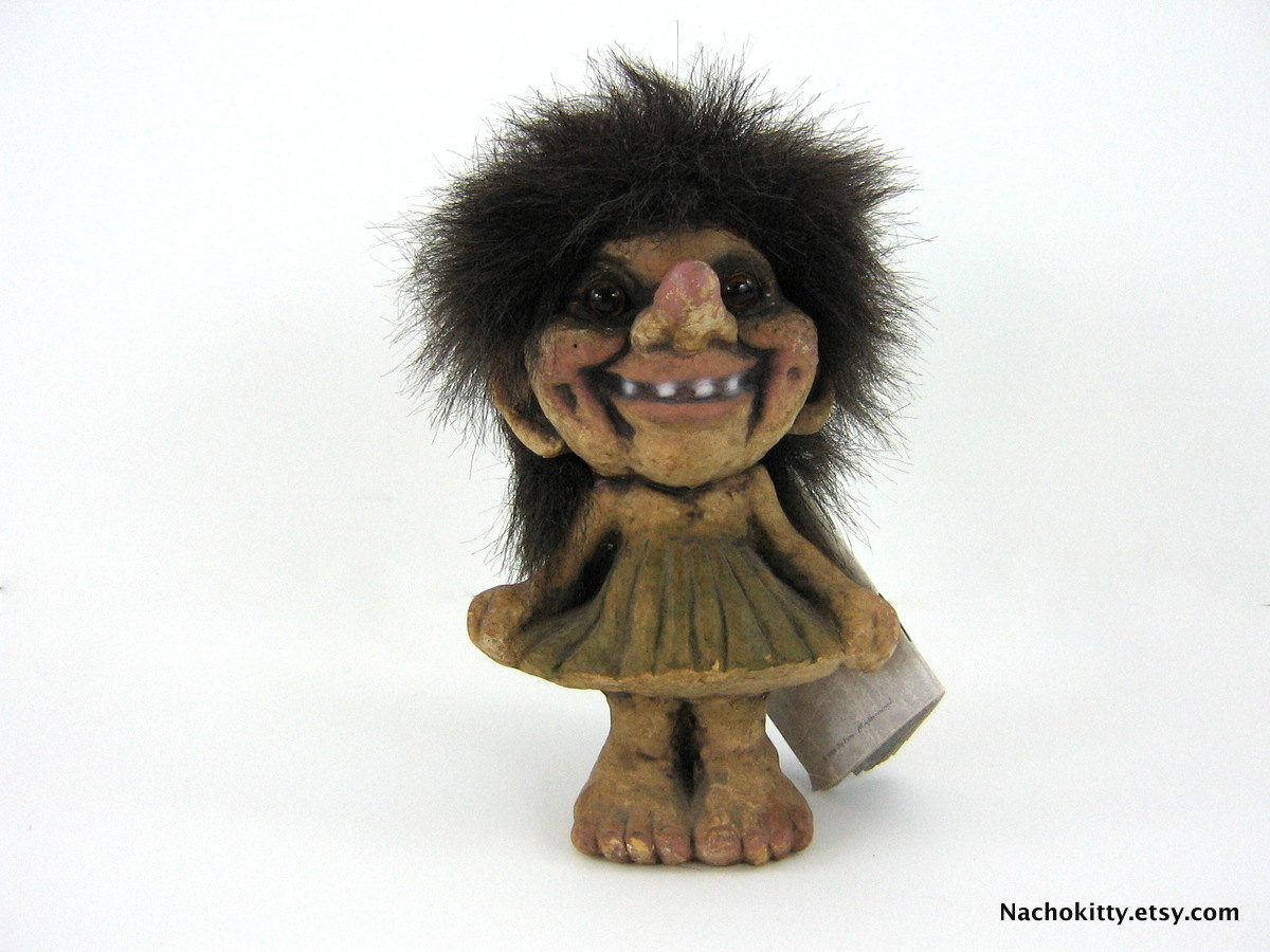 Norwegian Troll Figurine Original Label amp Booklet by  : ilfullxfull379651208m10n from www.etsy.com size 1200 x 900 jpeg 222kB