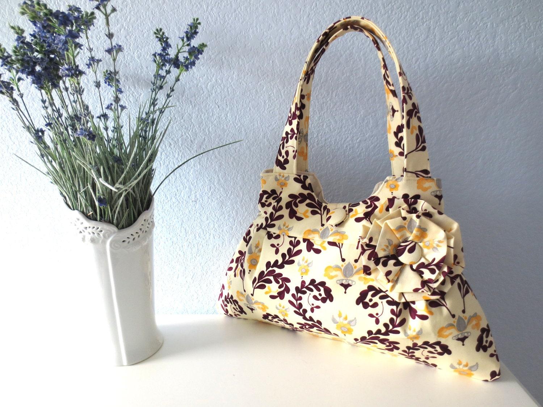 For Alex, Posh Mulberry, Pleated Handbag