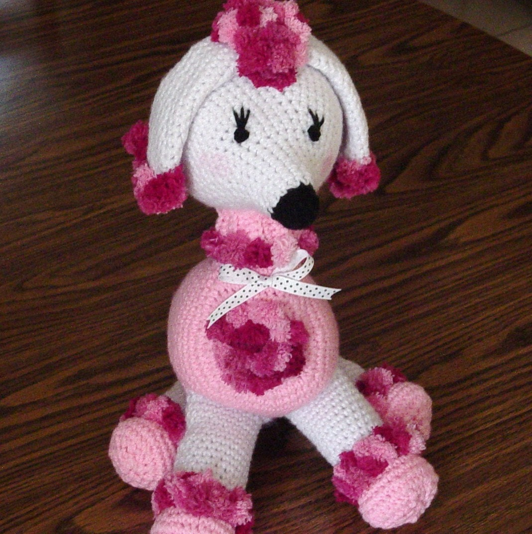 Crocheted Poodle