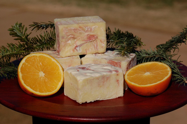 Sweet Orange Cinnamon Soap