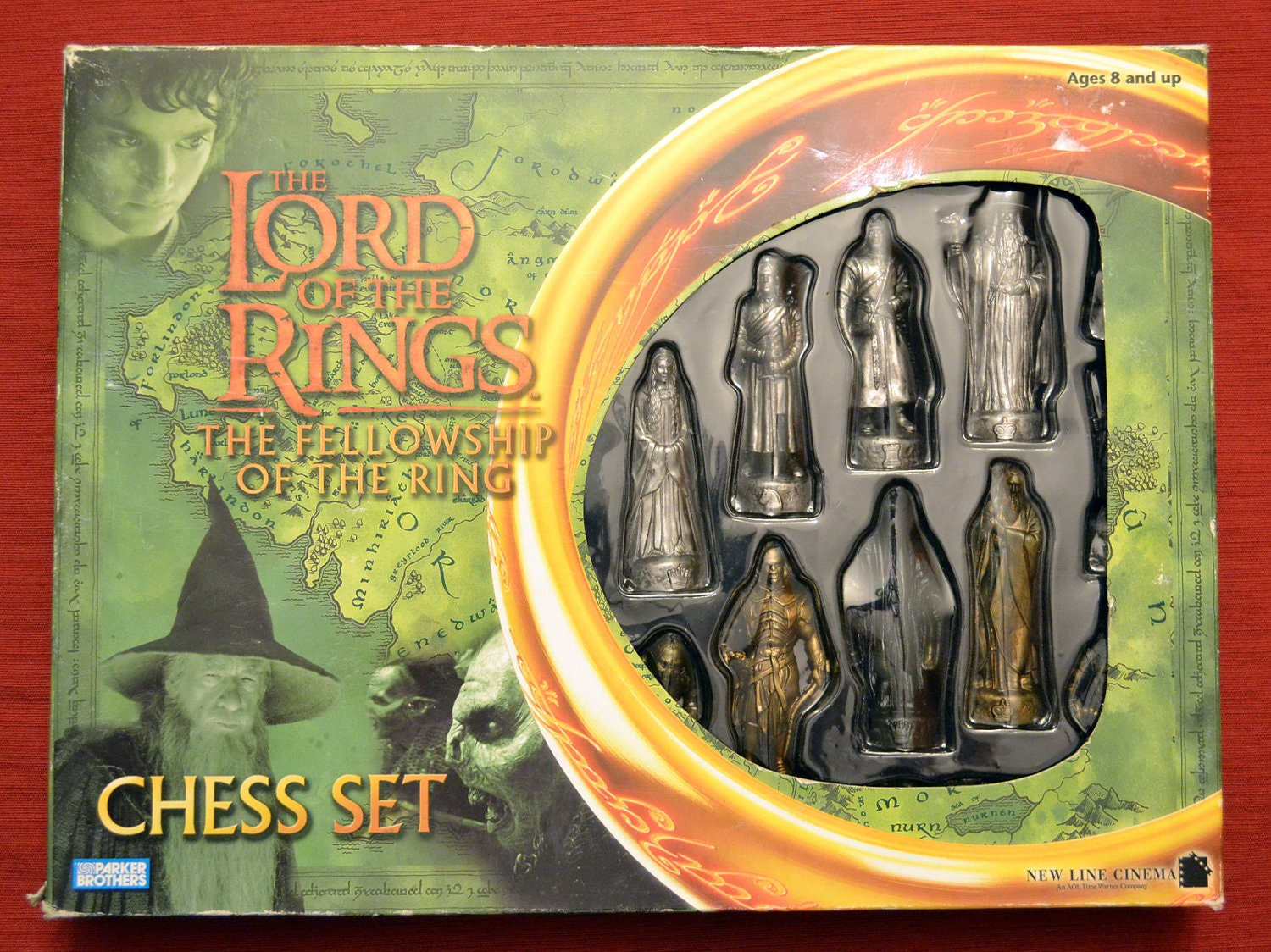 Lord Of The Rings Chess Set Fellowship Of The By Glorydayfinds