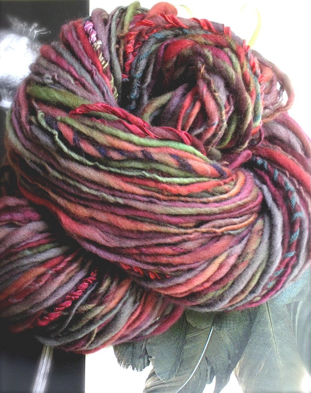 CHILI CHAR -Handspun and Handpainted Gypsy Yarn by Pancake and Lulu