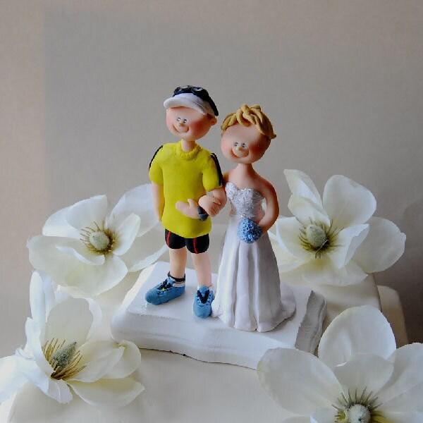 Ironman Triathlon Cake Topper