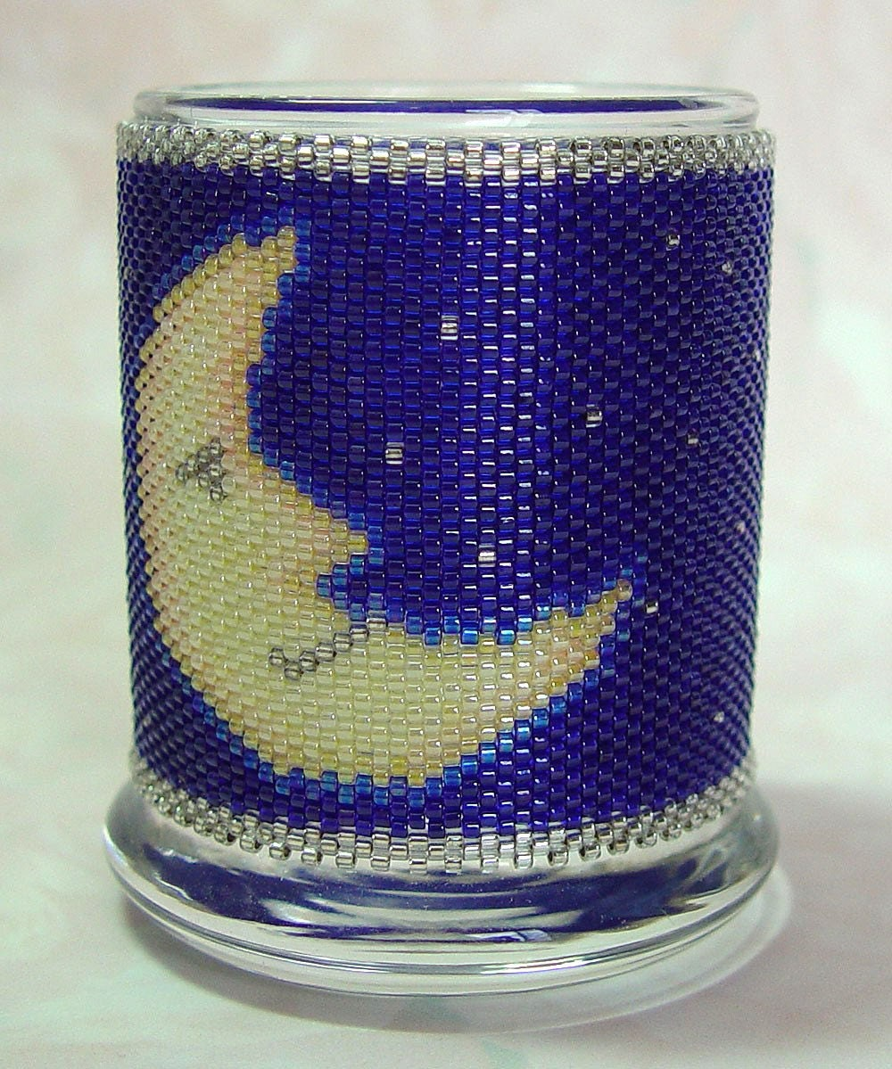 Blue Moon - Tealight Holder-SALE