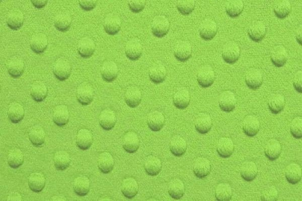 LIME GREEN minky DOT 1 yd