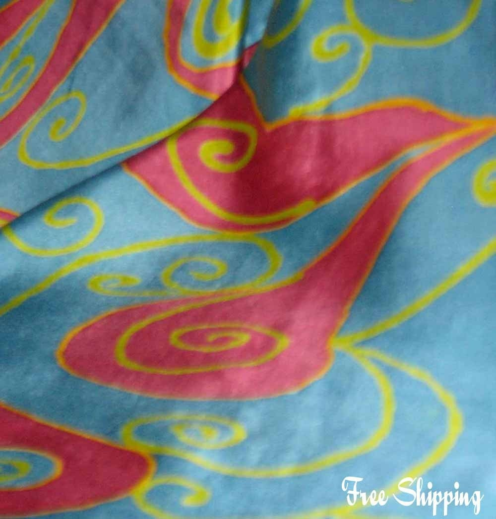 silkartfrombrazil on Etsy - Hand Painted Silk Scarves and other Silk Art