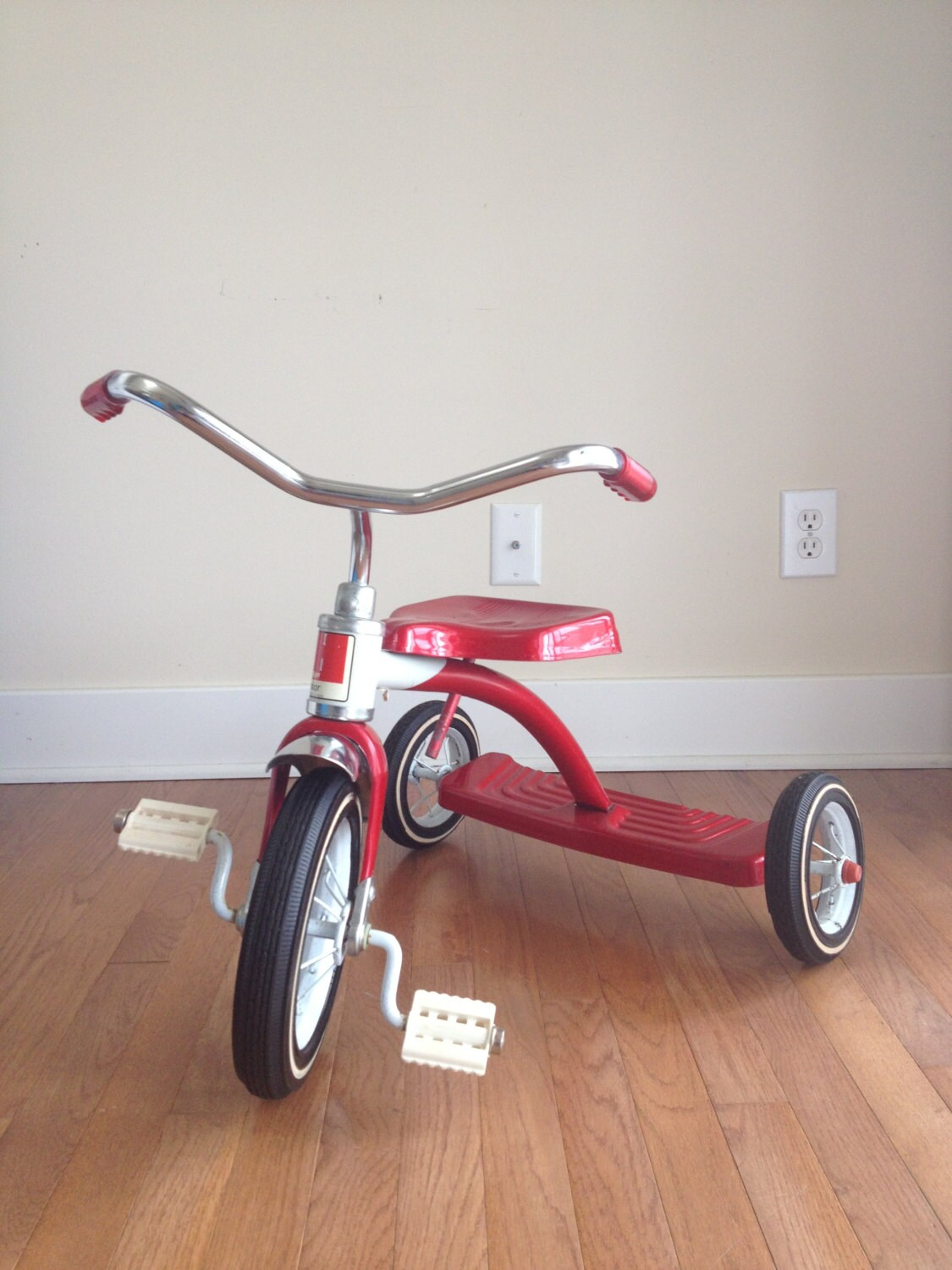 Vintage Amf Junior Childs Red Tricycle Vintage Red By