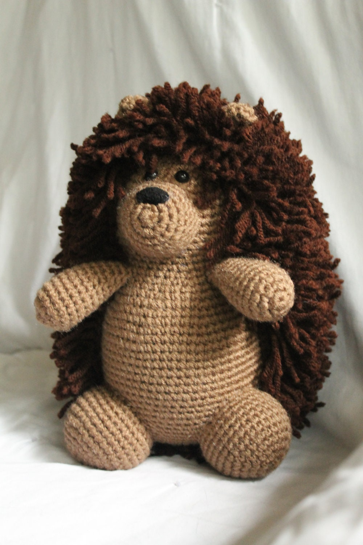 Amigurumi Hedgehog : Herbert the Hedgehog Amigurumi Plush Crochet by daveydreamer