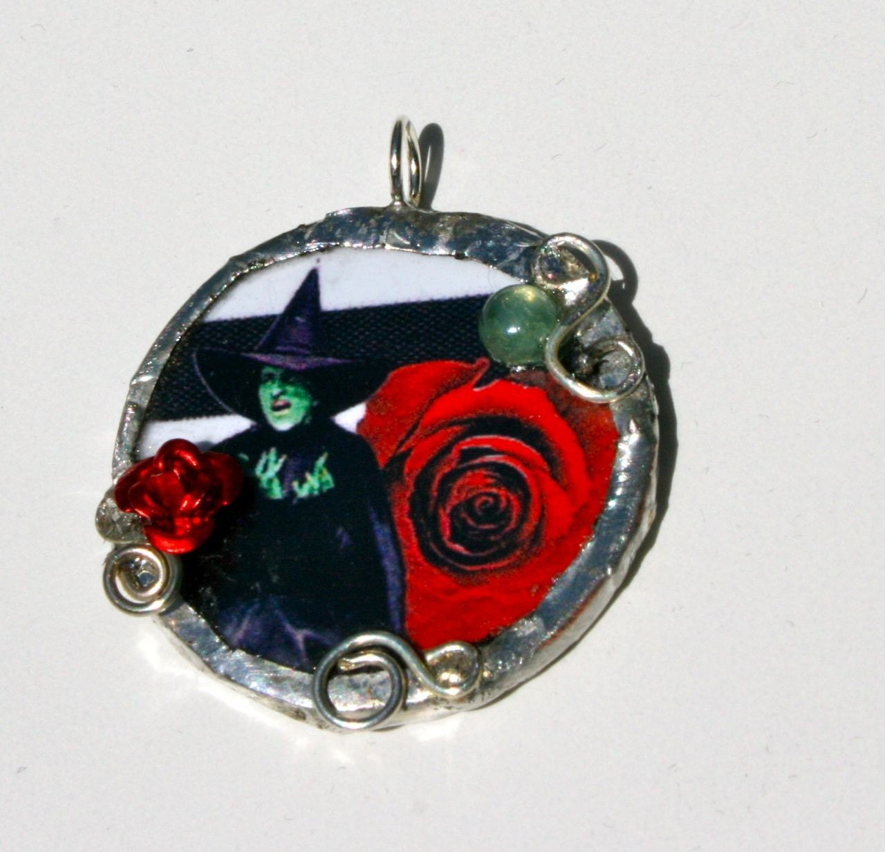 Beautiful Wickedness Witchy Pendant