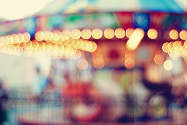 Carousel Dreaming - 20x30 Fine Art Photography Print