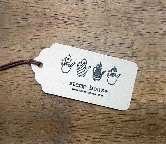 cloud shaped Gift Tag Set of 50pcs (your choice of one)