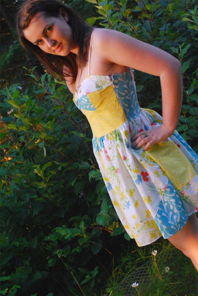 Patchwork Dress // S/M