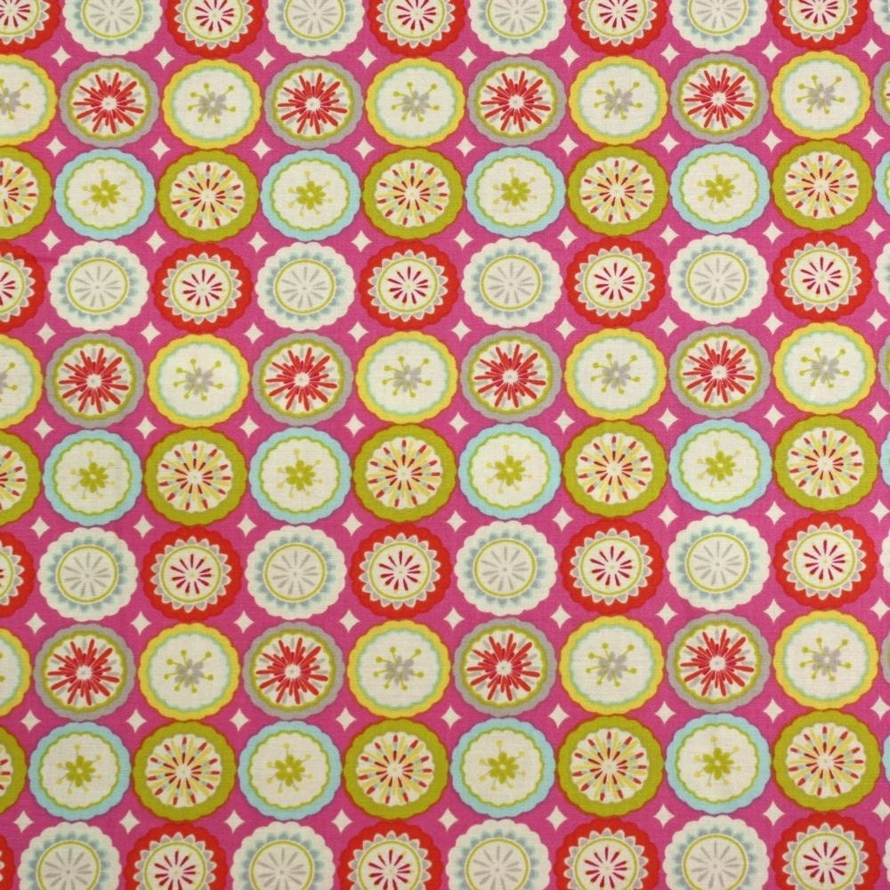 Items similar to kumari garden fabric by dena designs for for Kumari garden fabric by dena designs
