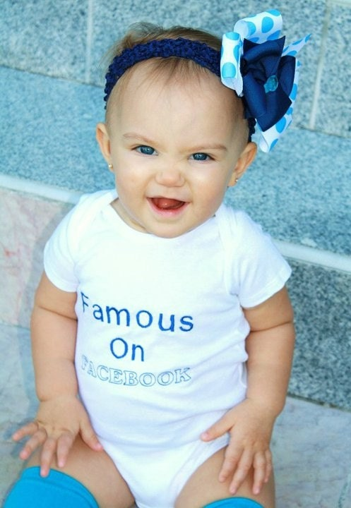 Famous on Facebook Baby or Toddler Outfit