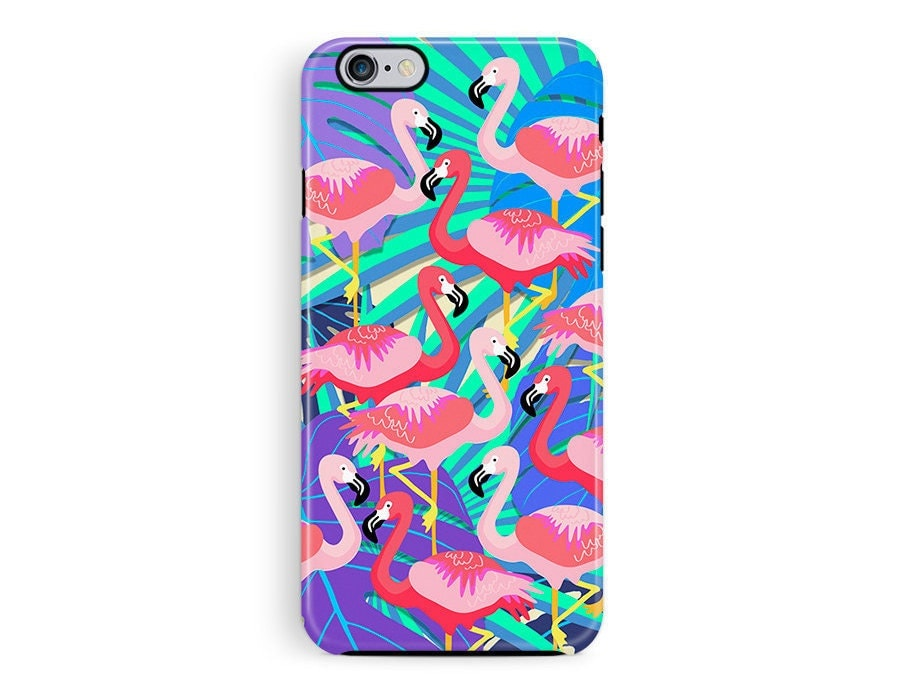 Flamingo Phone Case Protective Phone case iPhone 6 protective case iPhone 5s protective case Phone Cases Wildlife Lover Gift hard case