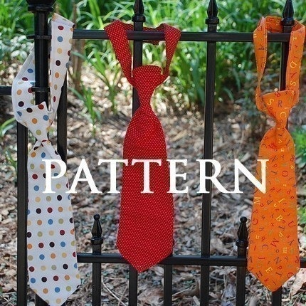 Small Fry Neck Tie - SEWING PATTERN