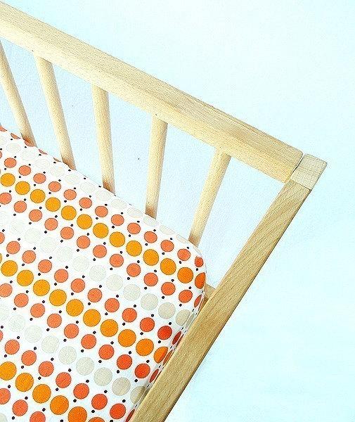 Crib Sheet - Orange Crush