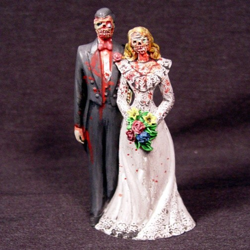 Zombie Cake Topper by UndeadEd on Etsy