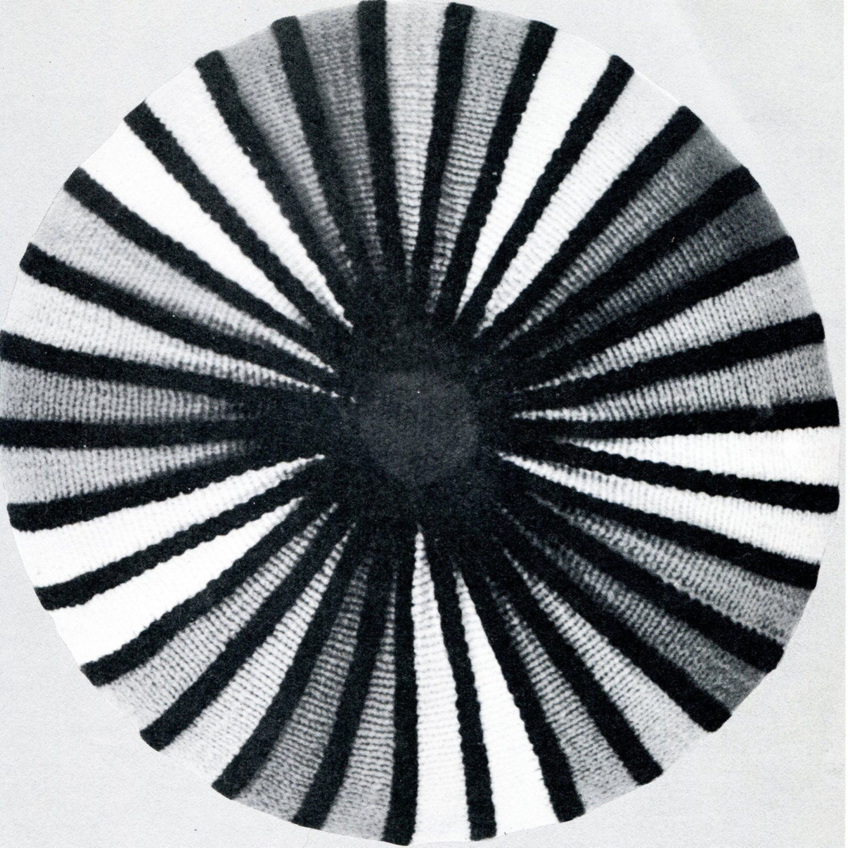 Rainbow Cushion Knitting Pattern : Round Rainbow Knit Pillow Cover PATTERN by PearlShoreCat on Etsy