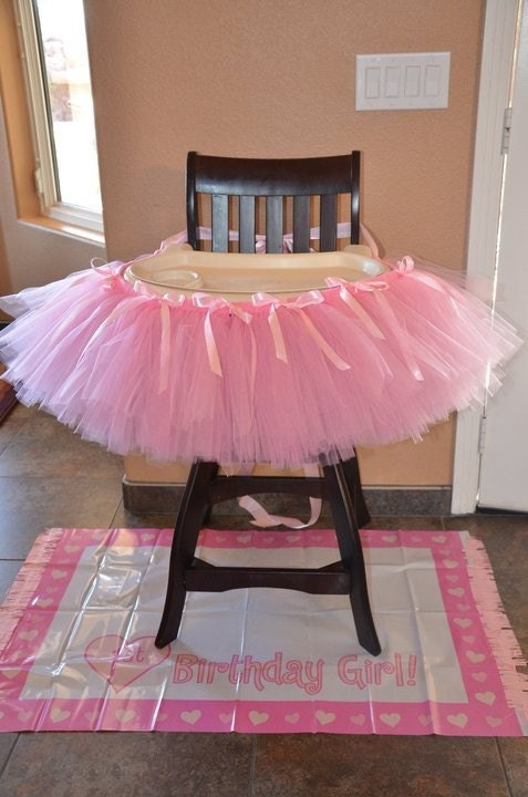 celebrate in style high chair tutu for your by tutuland