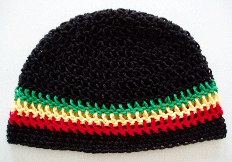 Crochet Skull Cap