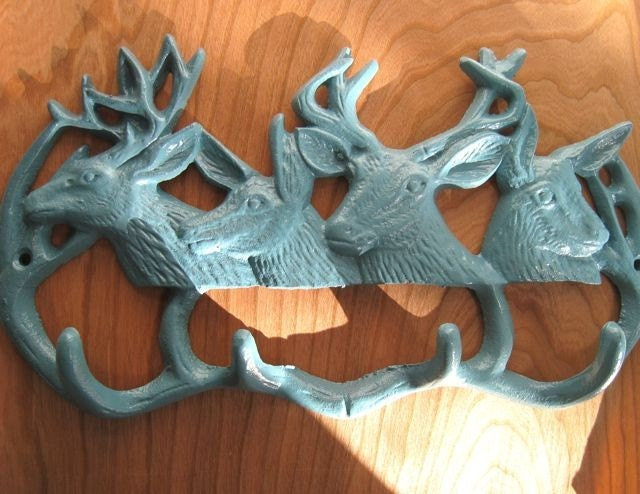 Herd of deer wall hook