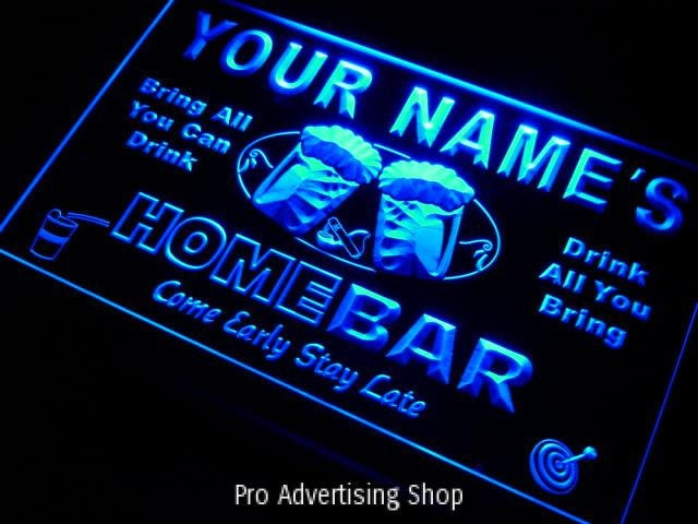 Man Cave Neon Light Signs : Personalized neon sign custom man cave
