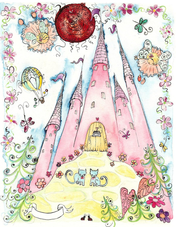 Fairy Palace Print