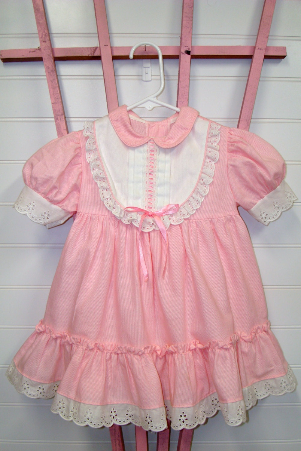 Vintage toddler clothes baby girl dress by ceUponADaizy
