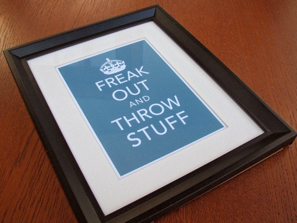 Keep Calm Parody Print 2