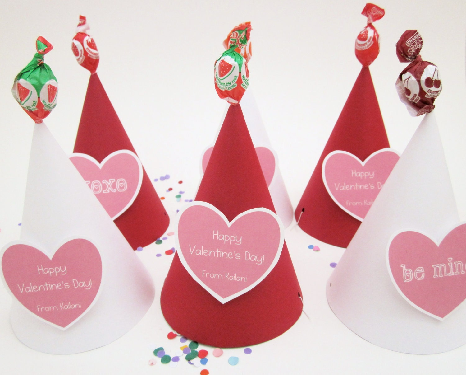 Valentine's Day Card/Treat/Hat- in one