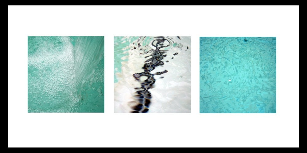 A trio water photos.