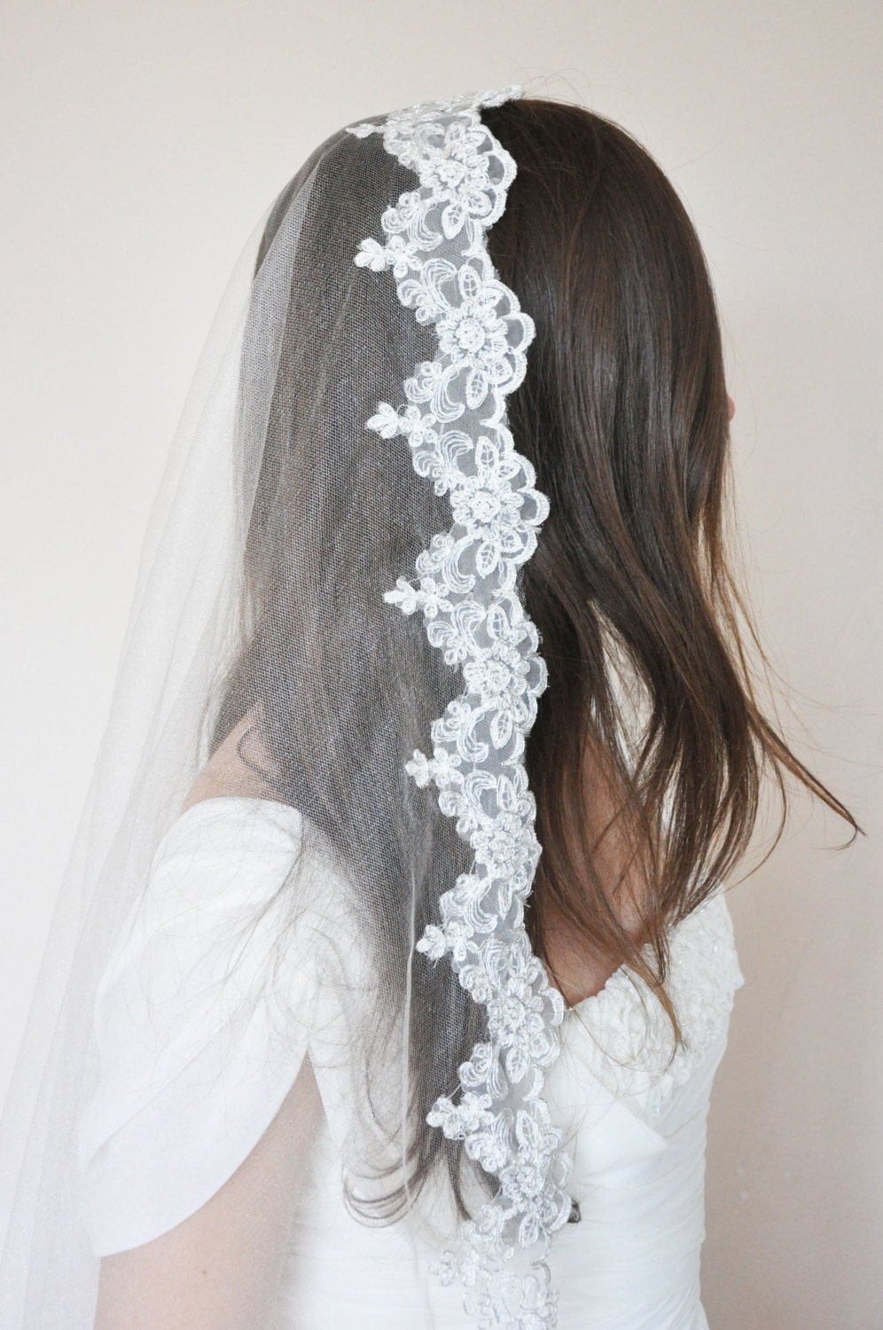 ... - Wedding Veil- Wedding Accessory- Bridal Veil- Headpiece- Bride